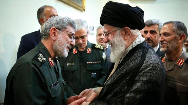 اسماعیل قاآنی بعد از کشته شدن قاسم سلیمانی در حمله آمریکاییها در بغداد به فرماندهی نیروی قدس سپاه پاسداران منصوب شد