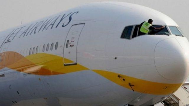 जेट एयरवेज़ का विमान
