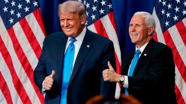 ABD Başkanı Donald Trump ve Başkan Yardımcısı Mike Pence