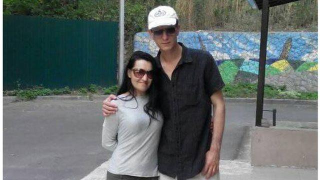 Анна Гаркуш із чоловіком