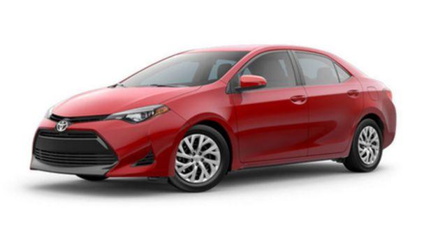 Modelo Corolla 2017 de Toyota