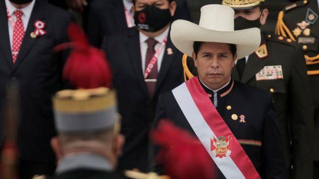 Pedro Castillo.