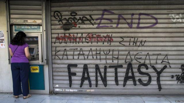 Greece debt crisis: Greek voters reject bailout offer