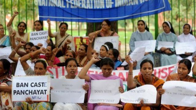 En Inde, des mariages peuvent être annulés s'il s'avère que les jeunes épouses ne sont pas vierges.