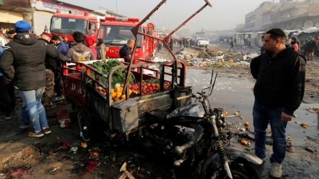 IS conflict: Iraq car bomb kills 11 in Baghdad