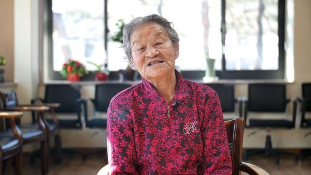 위안부 피해 생존자 박옥선(94) 할머니