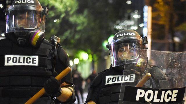 दंगा पुलिस, नॉर्थ केरोलिना