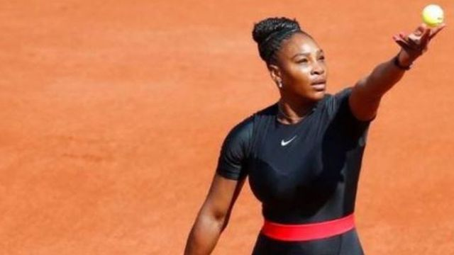 Serena Williams na French opun