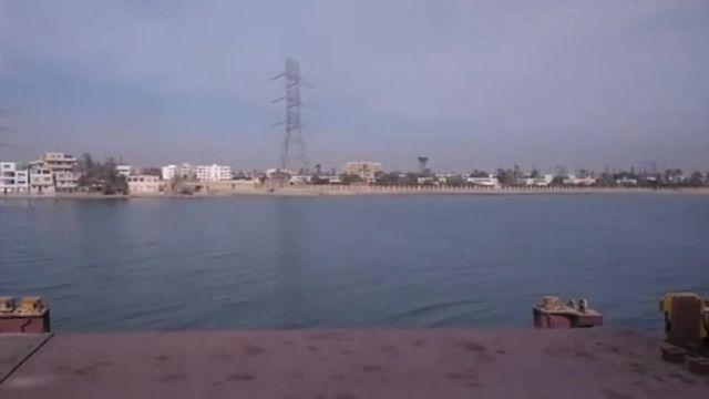 MV aman'dan kıyının görünüşü