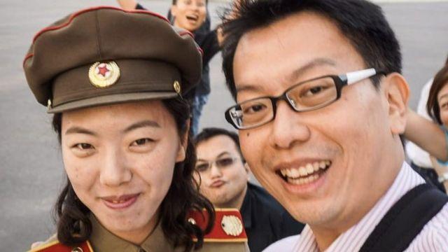 Aram Pan en Corea de Norte.
