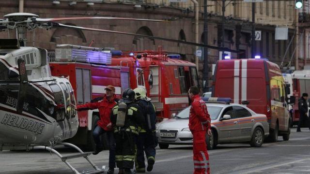 Санкт Петербург метросидаги портлашдан кейин