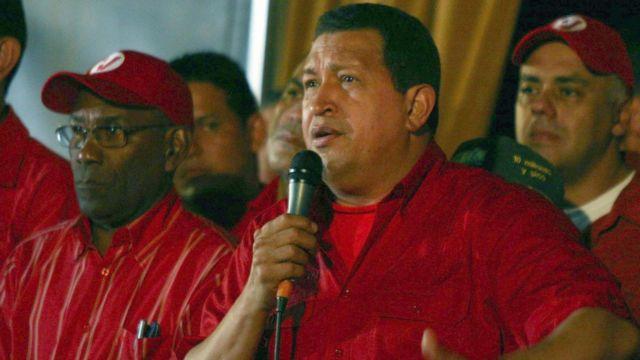Hugo Chávez en 2008.