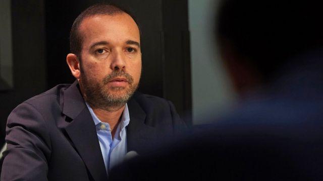 Antonio Mugica, director ejecutivo de Smartmatic.