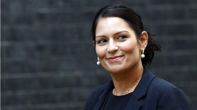 پریتی پاتل، وزیر توسعه بینالمللی بریتانیا
