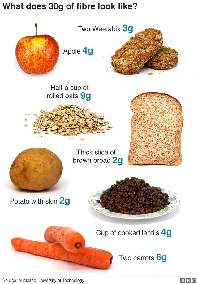 sampke diet 30 g fiber day