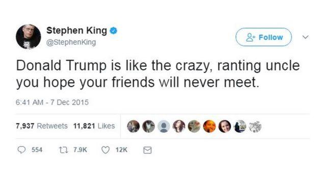 @StephenKing/Twitter