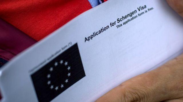 Đơn visa Schengen