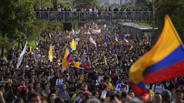 Movilizaciones Colombia