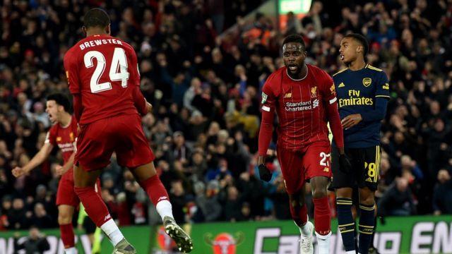 Arsenal ati Liverpool
