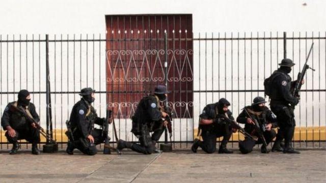 निकारागुआ के सैन्यबल