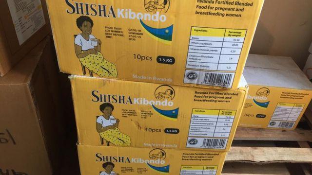 Zimwe mu mfashandyo zihabwa abana bagwingiye mu Rwanda