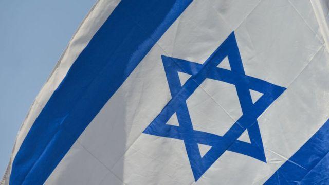 İsrail bayrağı səfirliyi