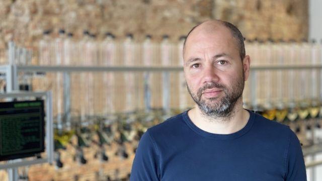 El cofundador de ScenTronix Frederik Duerinck