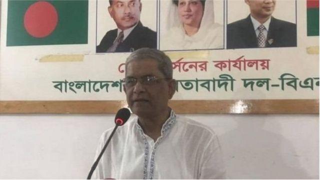বিএনপি মহাসচিব মির্জা ফখরুল ইসলাম আলমগীর