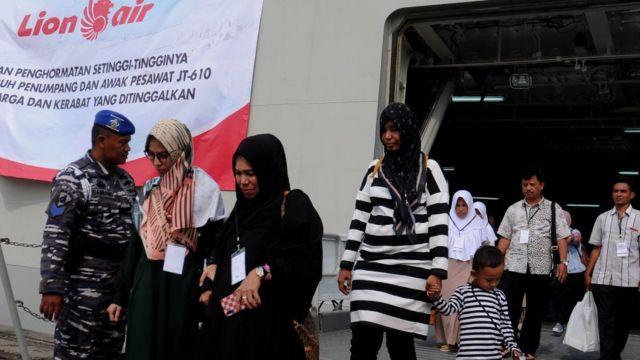 Keluarga korban kecelakaan Lion Air JT-610