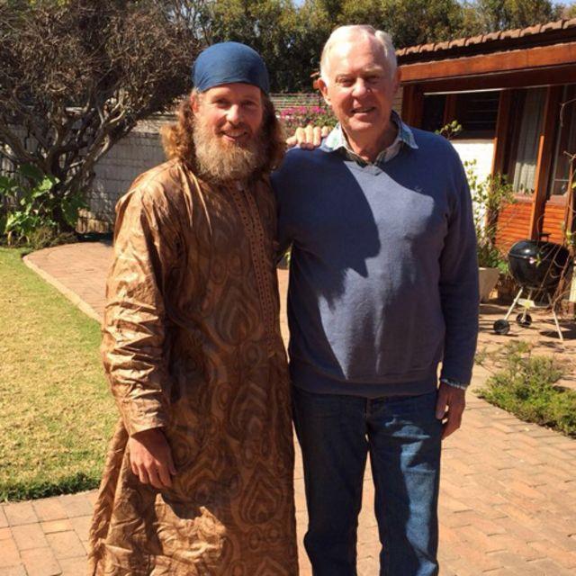 Stephen McGown con su padre Malcolm (Foto: Stephen McGown)
