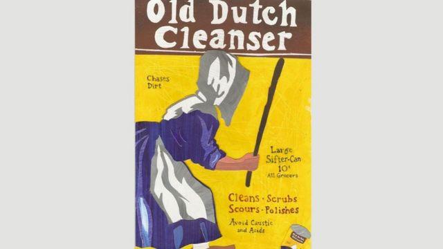Реклама канадійської компанії Old Dutch