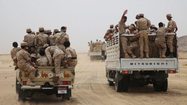 военнослужащие Йемена