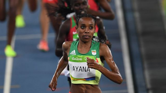 Almaz Ayana, le 19 août
