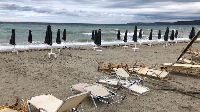 plaža u kasandri