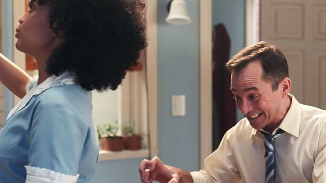 Escena del anuncio de Gillette