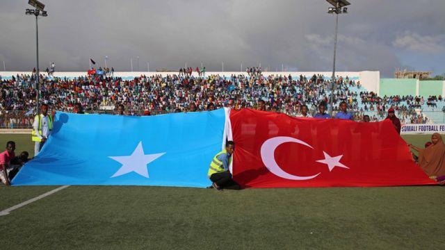 Somali'de 2017'de düzenlenen saldırılarda Türkiye'nin ülkeye yaptığı yardımlar destek görmüştü.