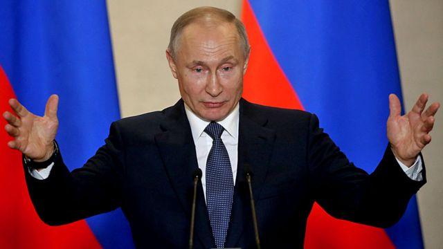 Presidente Vlaidmir Putin