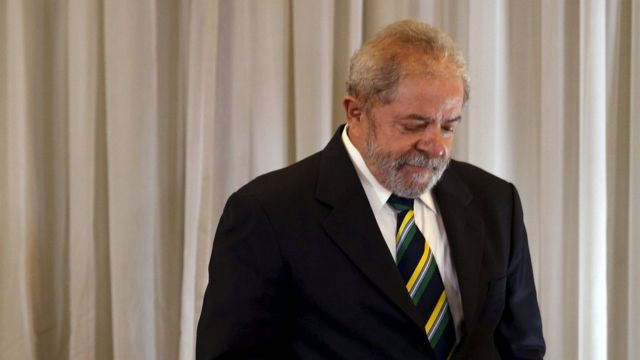 Luiz Inácio Lula da Silva en su despacho