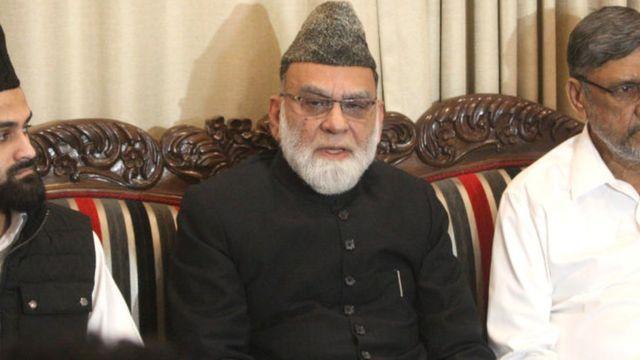 जामा मस्जिद के शाही इमाम अहमद बुखारी