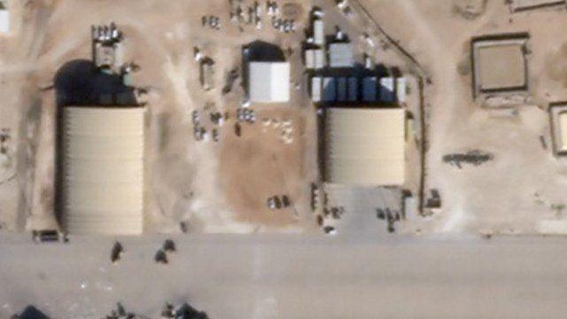 پایگاه هوایی عین الاسد عراق