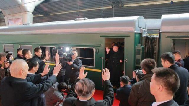အရင်တုန်းက မြောက်ကိုရီးယားကနေ တရုတ်နိုင်ငံ ဘေဂျင်းမြို့ဆီ ကင်ဂျုံအွန်း ရထားနဲ့ သွားခဲ့ဖူး