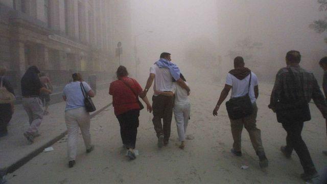 غطت سحابة غبار سماء مدينة نيويورك