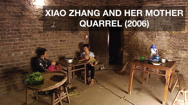 Xiao Zhang and her mother, 2006