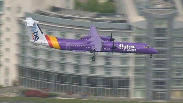 FlyBe at London City Airport