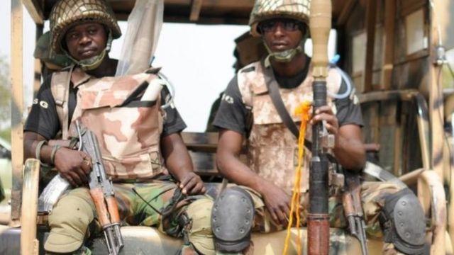 جنود بالجيش النيحيري
