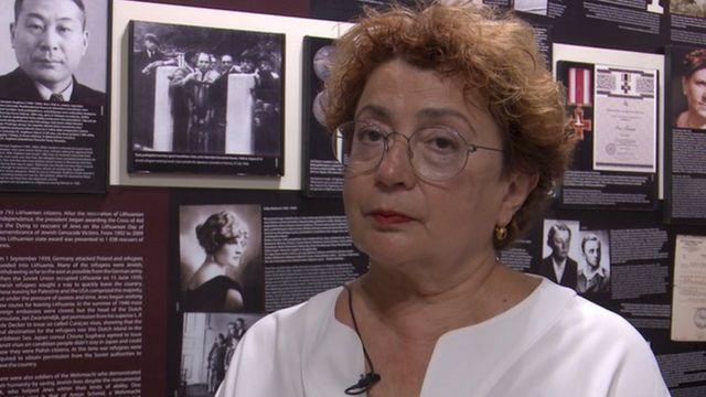 Глава Литовской еврейской общины Фаина Куклянски