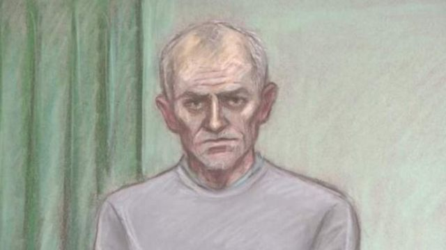 Баррі Беннелл на судовому засіданні