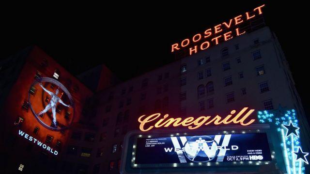Première de la serie Westworld en Los Ángeles en otoño de 2016