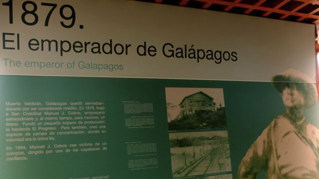 En el Centro de Interpretación de San Cristóbal el turista puede acceder a la historia de Manuel J. Cobos.