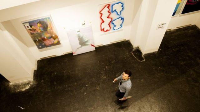 Експозиція у Музеї сучасного урбаністичного мистецтв у Берліні (15 вересня 2017)